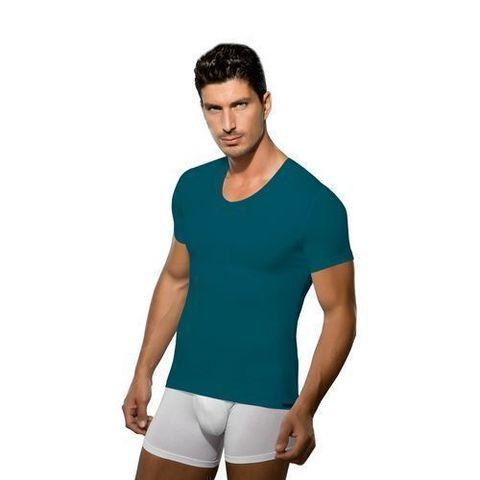 Мужская футболка изумрудная Doreanse 2855