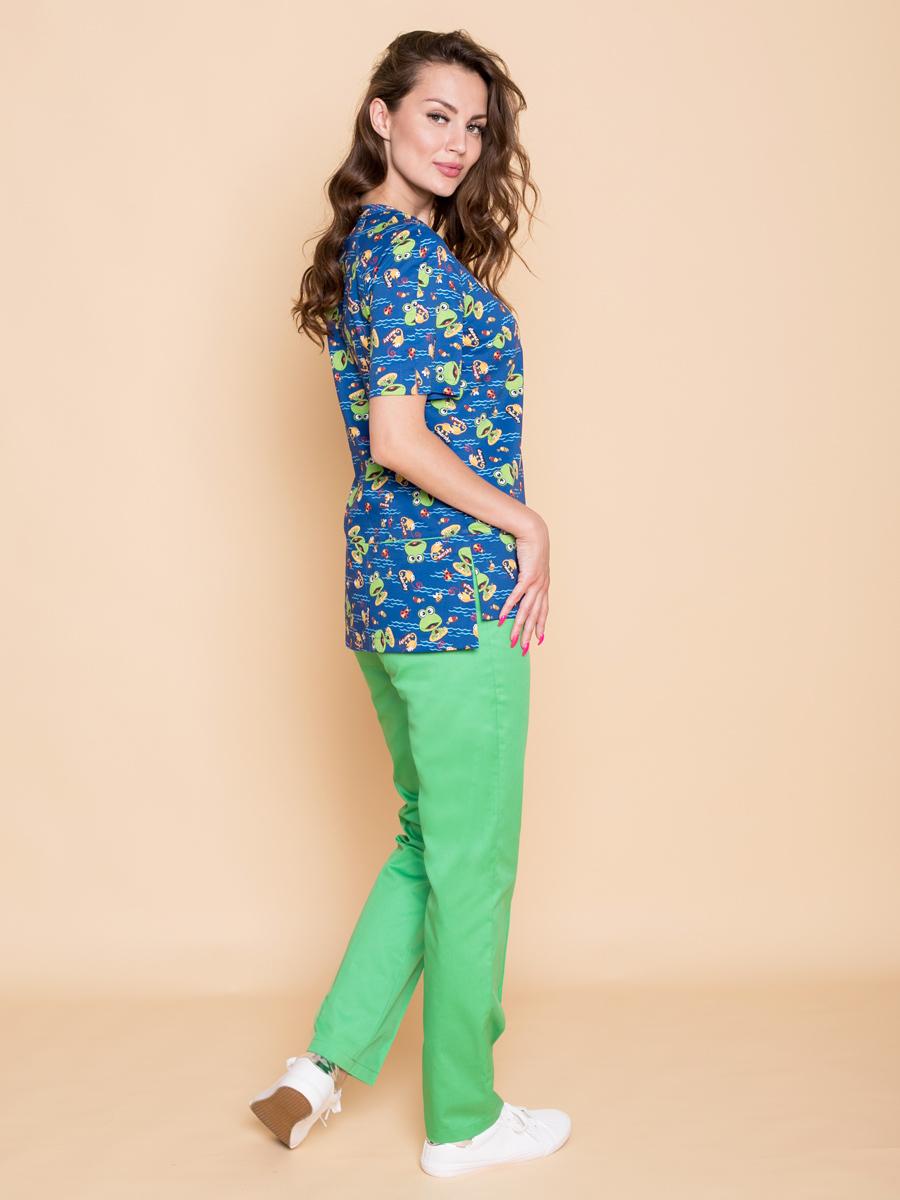 Женская медицинская блуза клеон лайт