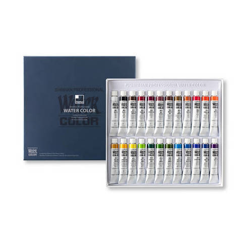 Набор красок SH WATER COLOR PRO 24цв*7,5мл