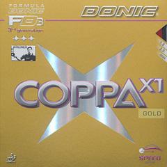 DONIC Coppa X1 ( Gold )