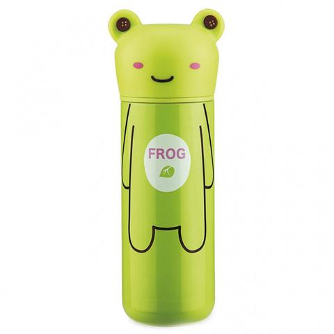 Детский термос 200 мл зеленый Лягушка 9685