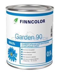 Эмаль алкидная Finncolor Garden 90 глянц. для вн. и нар. раб., основа С, 0,9л
