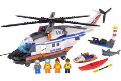 Конструктор серия Город Сверхмощный спасательный вертолет