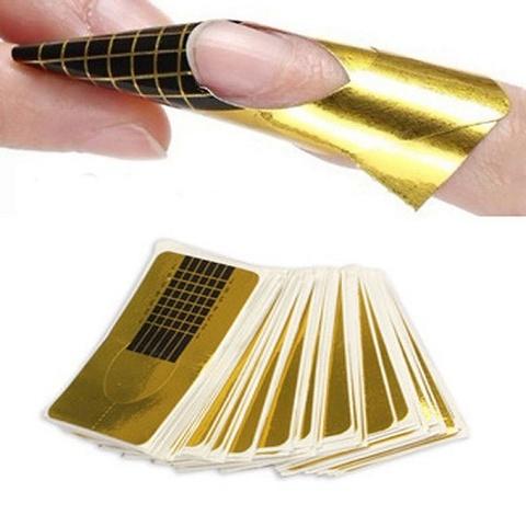 Формы для наращивания ногтей купить 20 шт.