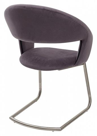 Стул VILLUS Grey Fabric (HY-HABABA12) ткань, M-city (обеденный, кухонный, для гостиной), Материал каркаса: Металл, Цвет каркаса: Сталь, Материал сиденья: Ткань, Цвет сиденья: Серый, Цвет: Серый
