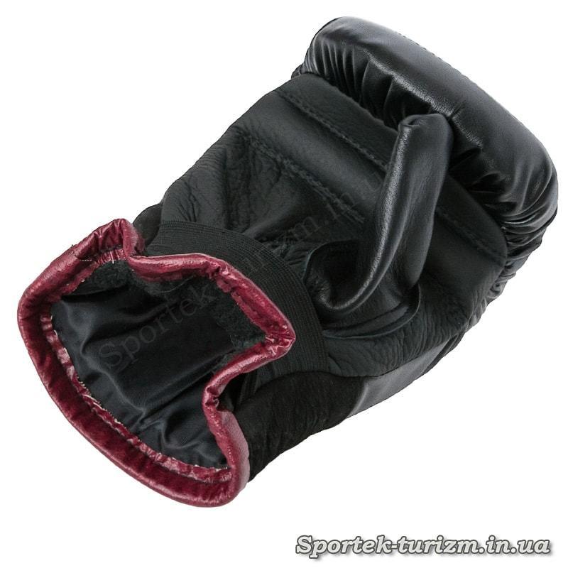 Перчатки снарядные кожаные