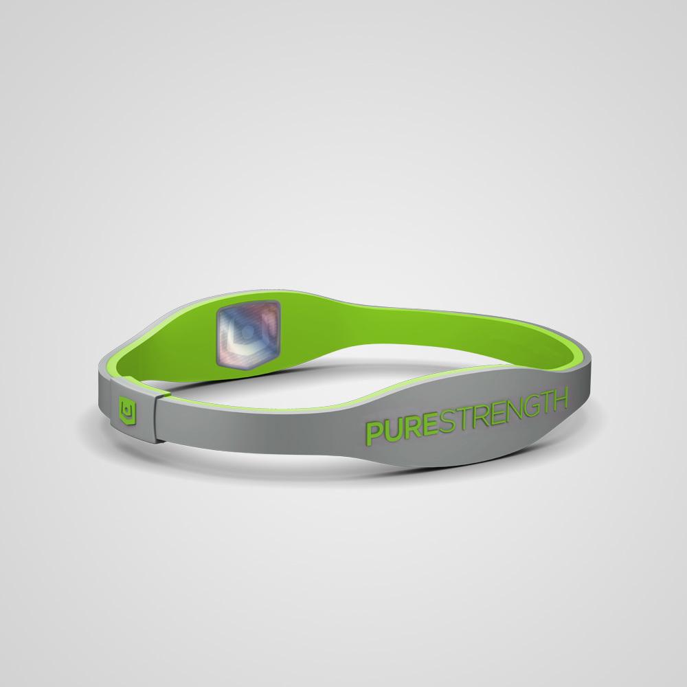 Браслет PureStrength Edge  LTE серый/зеленый