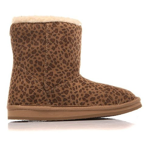 Угги дет Roxy RG MOLLY G BOOT CHE CHEETAH PRINT