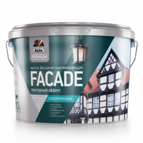 Dufa Premium FAСADE/Дюфа Премиум Фасад фасадная супер-прочная краска