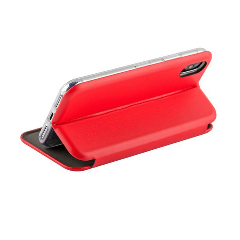 Чехол книжка Fashion Case красного цвета для Xiaomi Mi А2