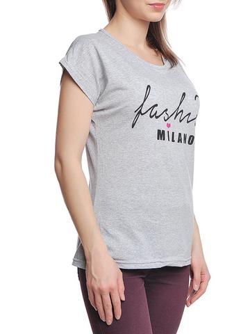 37662-2-4 футболка женская, серая