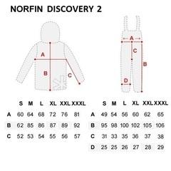 Костюм рыболовный зимний NORFIN Discovery 2, р. L, арт. 452003-L