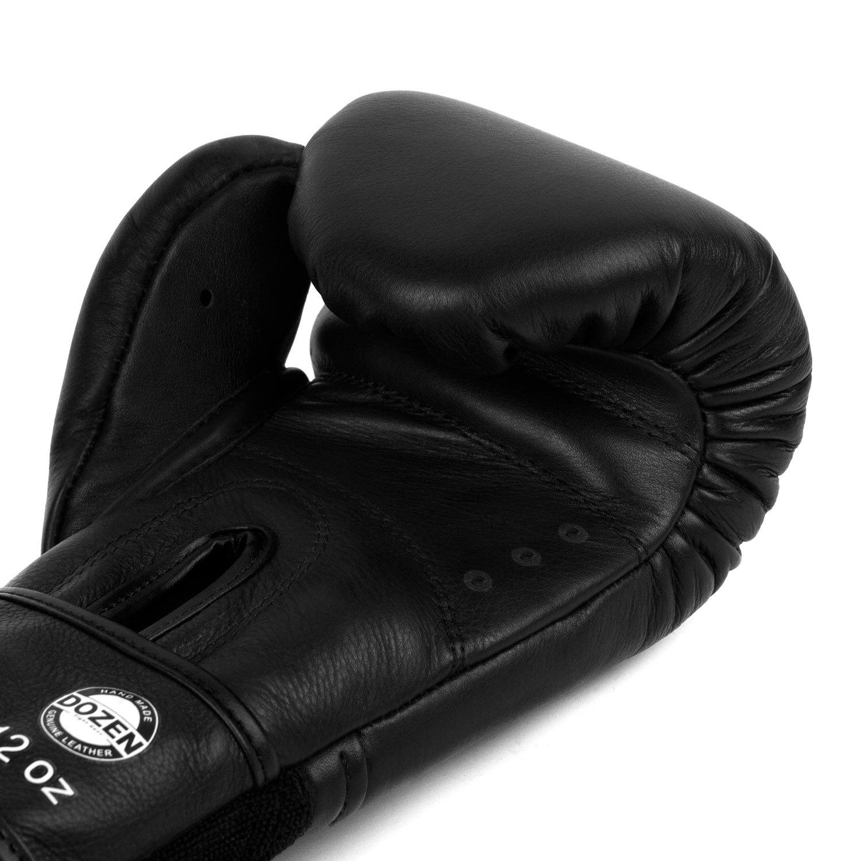 Перчатки Dozen Monochrome черные вентиляция