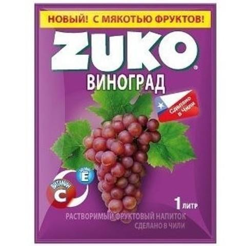 Растворимый напиток Zuko Виноград 25 г