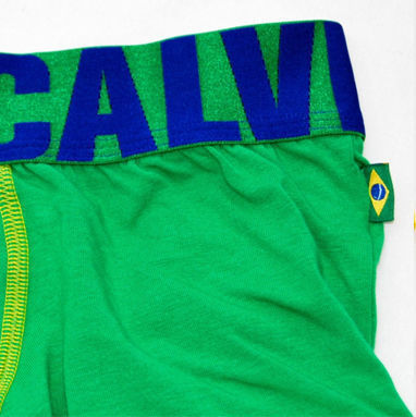 Мужские трусы боксеры Calvin Klein X Global Brasil CK07139
