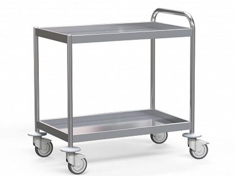 Стол для инструментов медицинский БТ-СТН-5-9-2 - фото