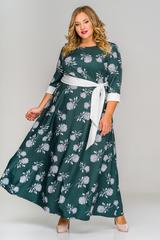 Платье расклешенное 155613 L