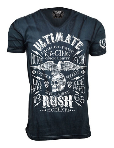 Футболка Racing Club Rush Couture. Made in USA