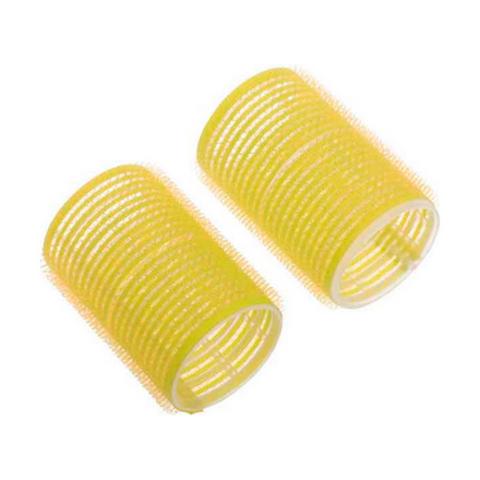 Бигуди 7 шт, диаметр 32 мм (пластик, липучка)