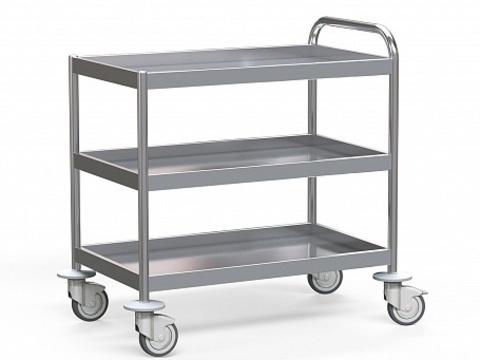 Стол для инструментов медицинский БТ-СТН-5-9-3 - фото