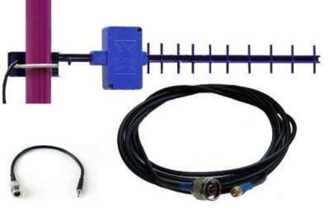 Комплект усиления LTE сигнала для модема 4G-SET Дача