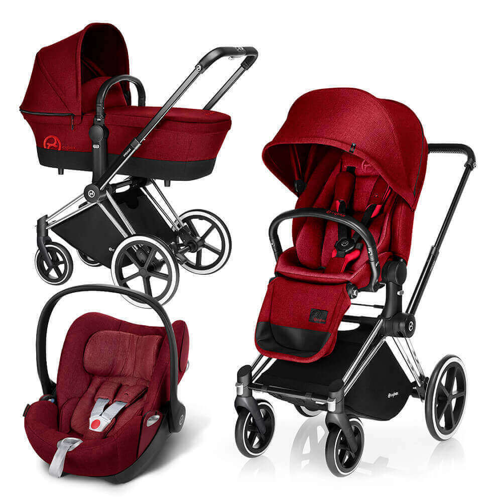 Цвета Cybex Priam 3 в 1 Детская коляска Cybex Priam Lux 3 в 1 Infra Red шасси Chrome/Trekking cybex-priam-cloud-infra-red.jpg