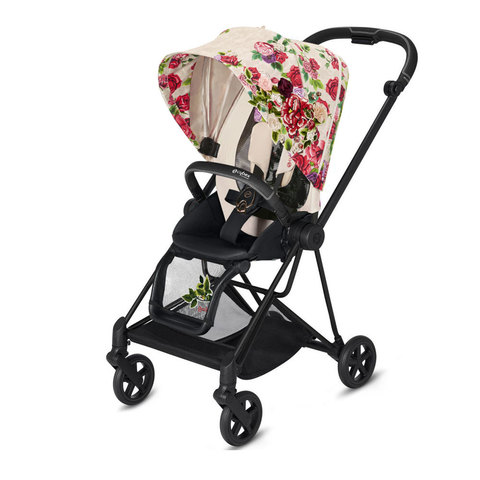 Прогулочная коляска  Cybex Mios Springblossom Light matt black