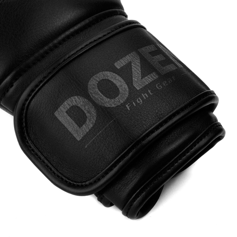 Перчатки Dozen Monochrome черные манжет