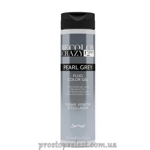 Be Color Crazy 12 Minute Fluo Color Gel Grey - Барвник прямої дії Сірий