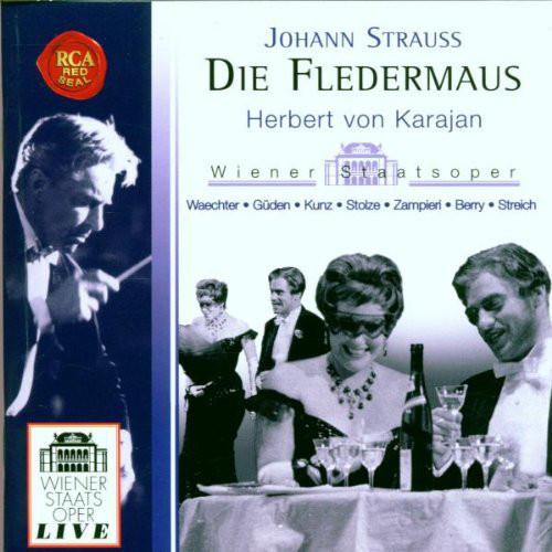 KARAJAN, HERBERT VON: Die Fledermaus, Johann Strauss