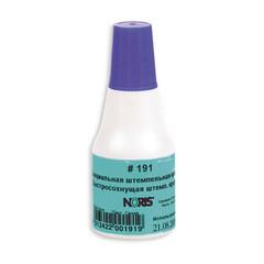 Краска штемпельная Noris 191А синяя на водной основе с содержанием спирта 25 г
