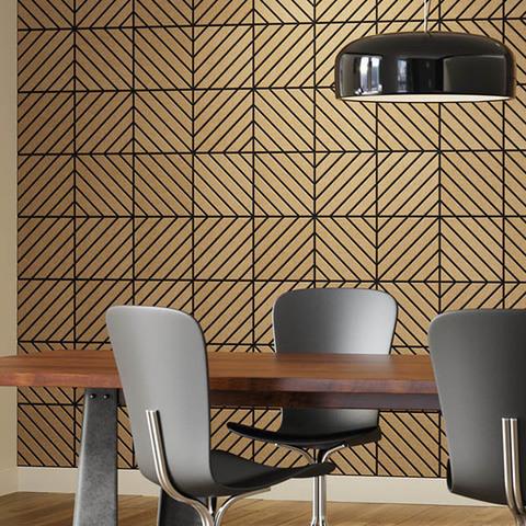 Стеновые  полиэфирные плитки Лабиринт