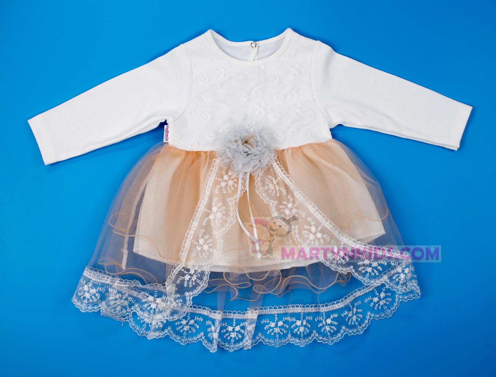 3040 платье Серебряная роза гепюр
