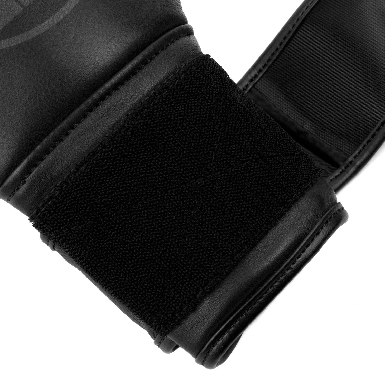 Перчатки Dozen Monochrome черные липучка петли