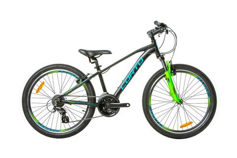 Подростковый велосипед Corto BAT 2021 матовый черный