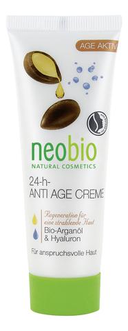 24-h Anti Age Cream /24 часа  разглаживающий крем для лица 50 мл (Neobio)