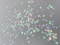 Микс бабочки и звезды