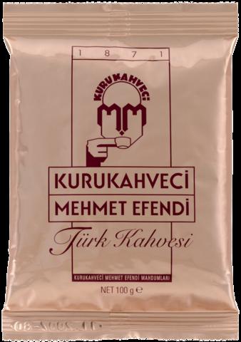 Кофе молотый Kurukahveci Mehmet Efendi мягкая упаковка 100 гр