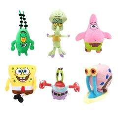 Губка Боб набор мягких игрушек 6 шт