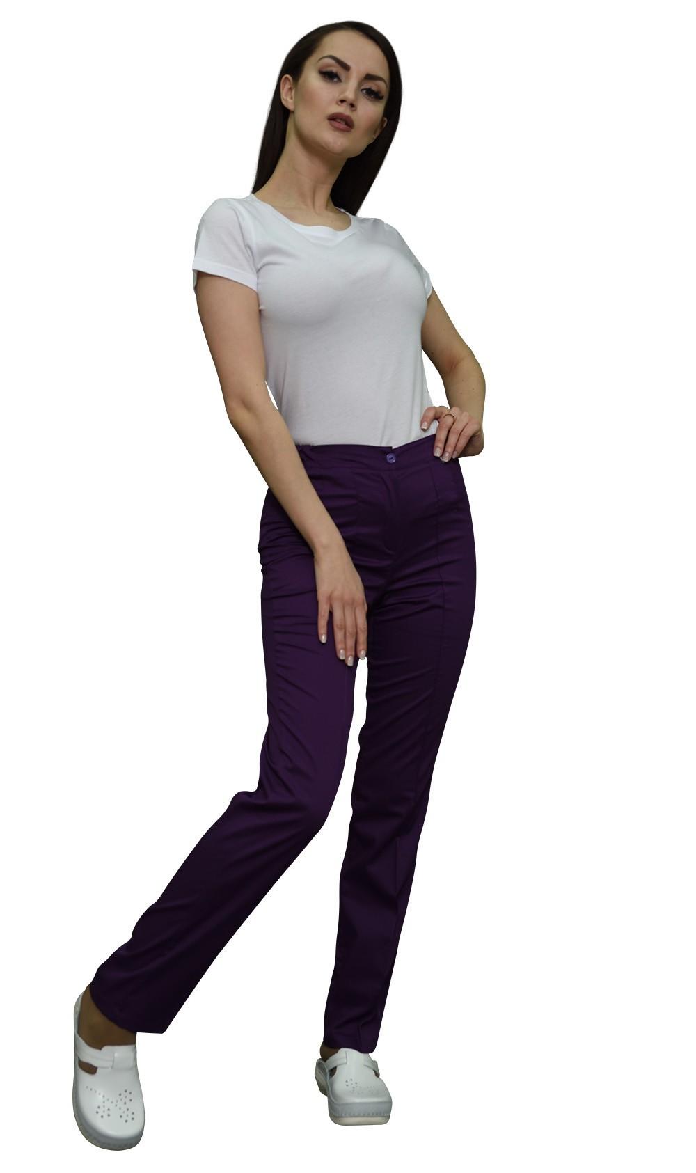 Фиолетовые брюки MediS.moda