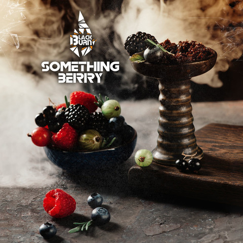 Табак Burn BLACK 25 г Something Berry