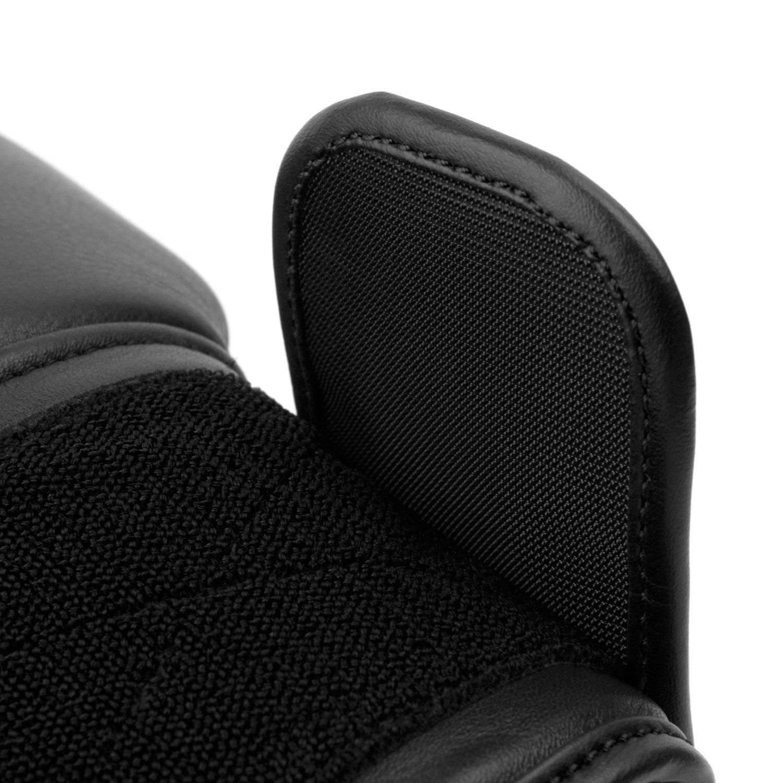 Перчатки Dozen Monochrome черные липучка крючки