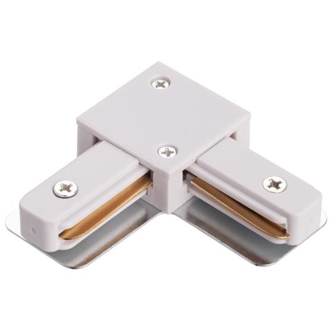 Соеденитель угловой для однофазной шины IL.0010.0041 белый