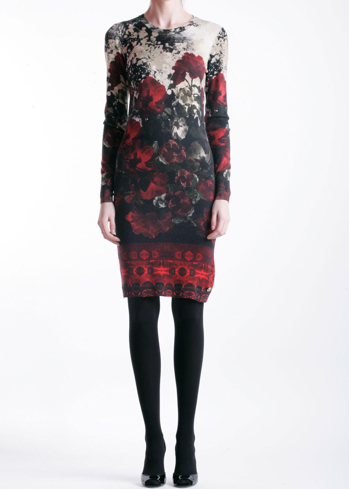 Платье из шерсти ANGELO MARANI
