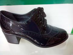 Женские туфли на осень Olteya 12403-dark blue
