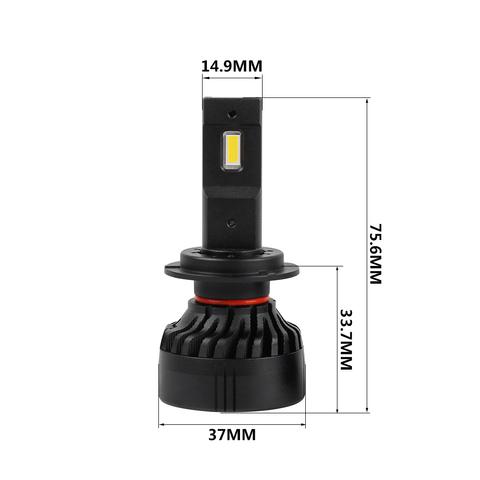 Комплект светодиодных ламп H7 LP-F3S, 45W, 5000 Lm, 2 шт