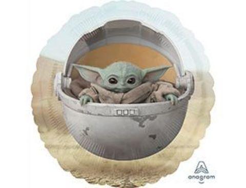 Фольгированный шар Звездные Войны Малыш Йода