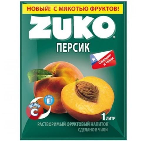 Растворимый напиток Zuko Персик 25 г