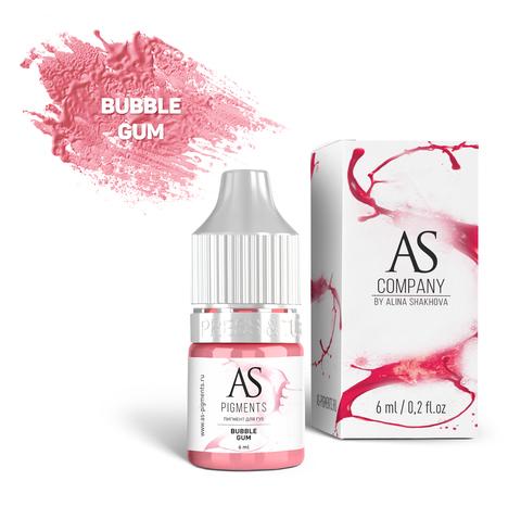 Пигмент для губ AS Bubble gum (Жевательная резинка), 6 мл