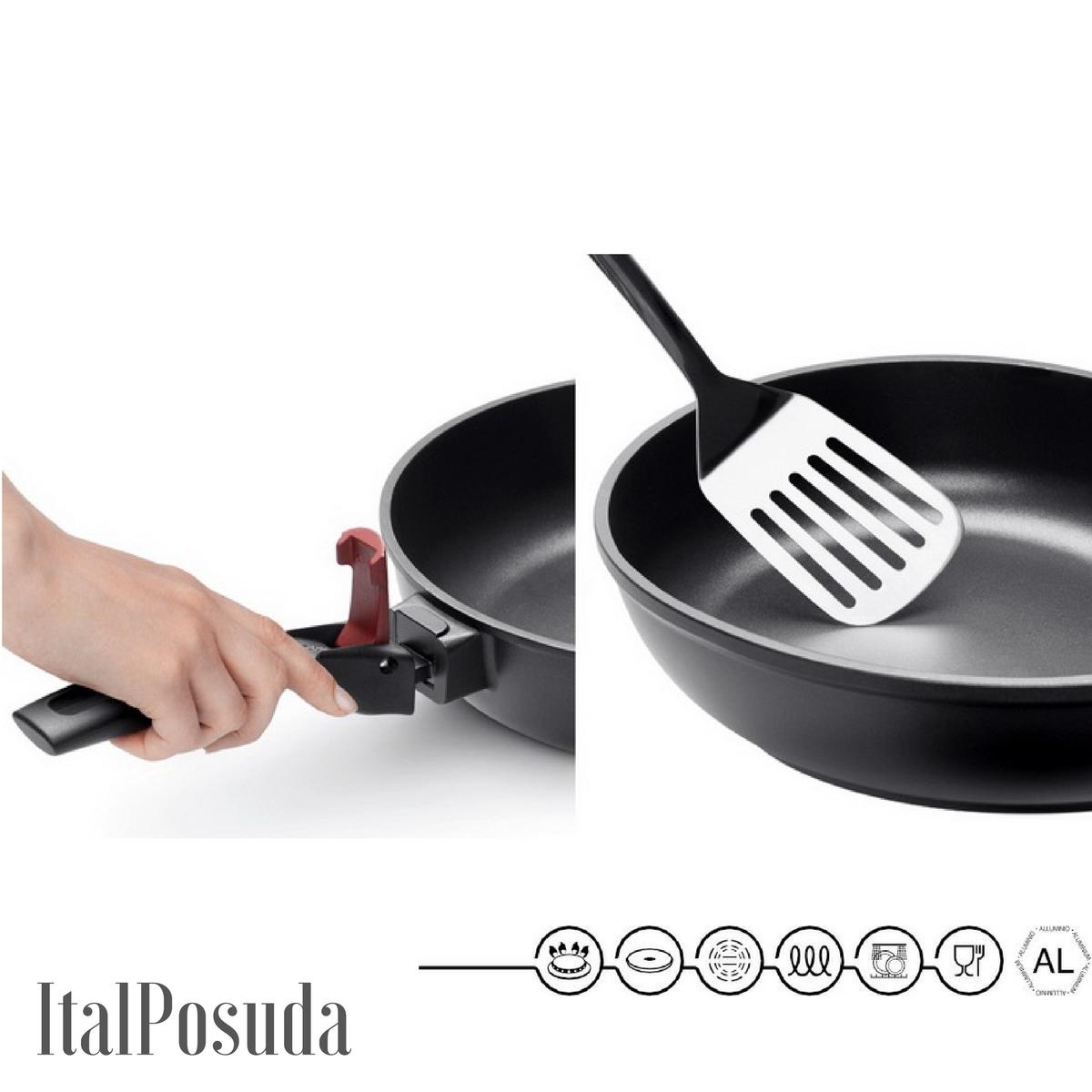 Блинная сковорода со съемной ручкой NADOBA VILMA, 26 см